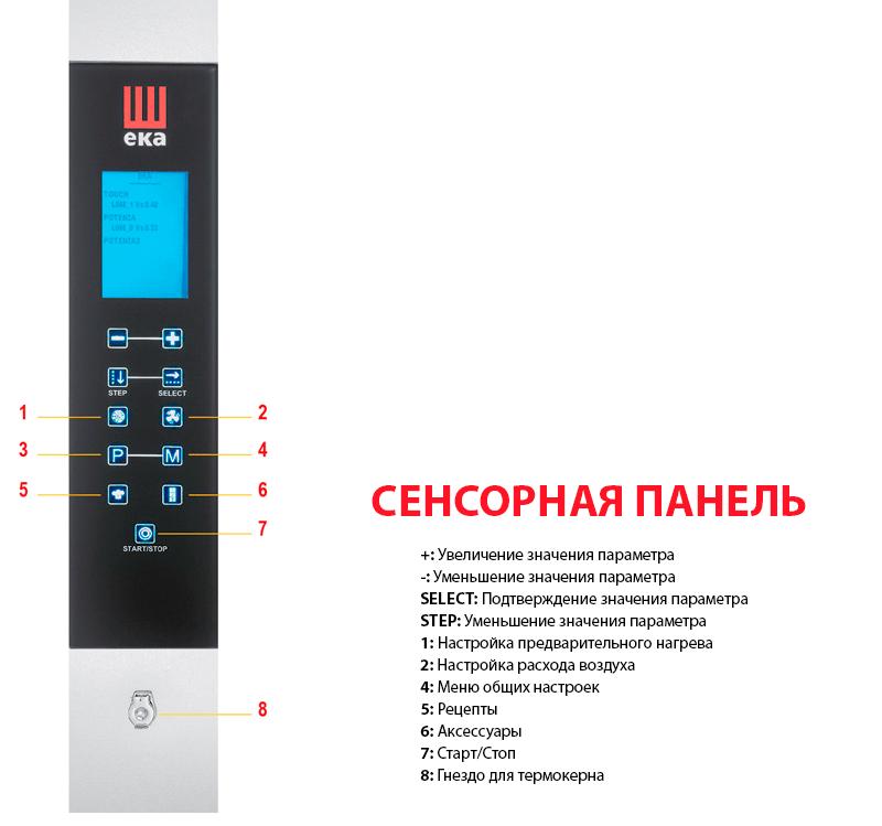 Сенсорная панель управления