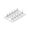KGP64/A |  Решітка для курчат